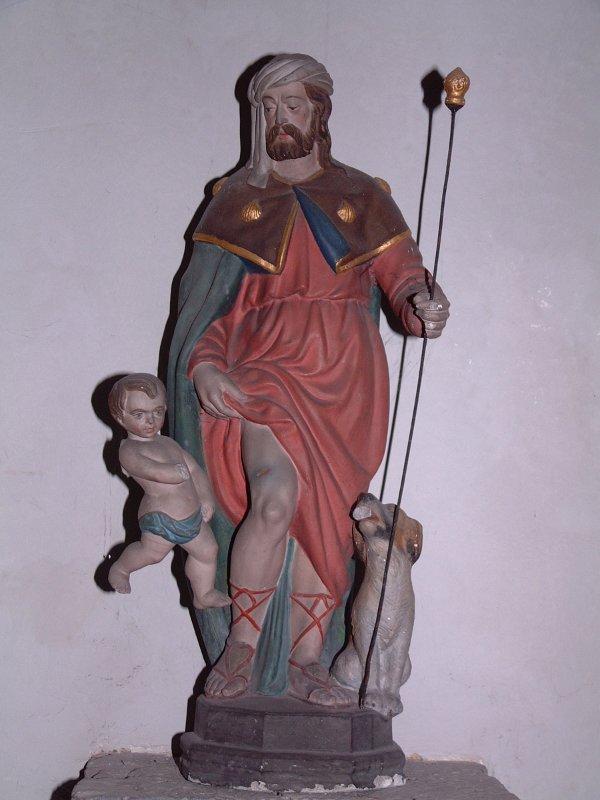 statue re 01 - Saint Roch