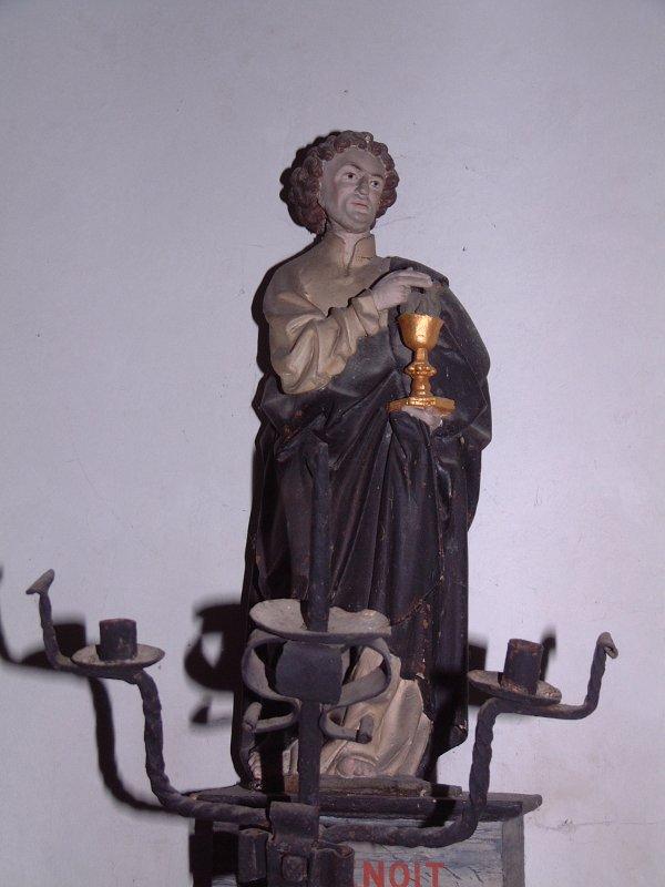 statue re 11 - Saint Benoît