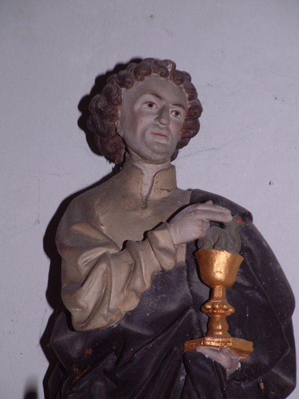 statue re 12 - Saint Benoît