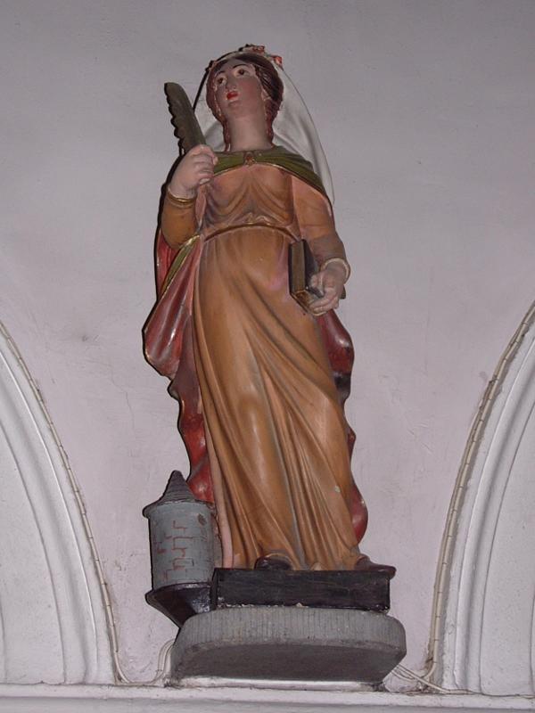 statue se 03 - Sainte Barbe