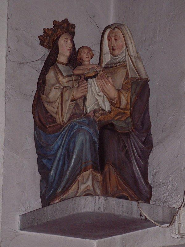 statue se 07 - Sainte Anne