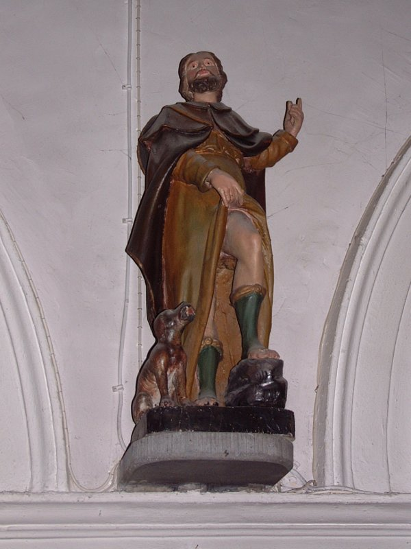 statue se 10 - Saint Roch