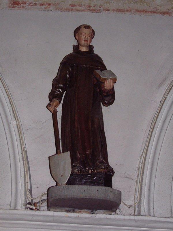 statue se 11 - Saint Fiacre